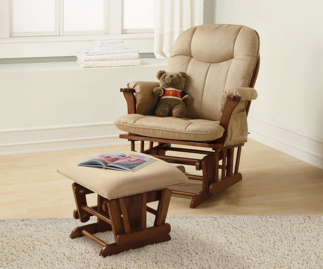 Rocking Chairs For Nursing With 2019 Glider Chairs For Nursery Furniture Rocking Sale Chair Discount (View 15 of 20)