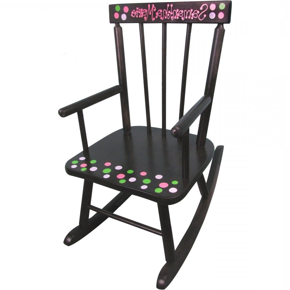 Rocking Chairs For Toddlers Within Newest Stunning Personalized Rocking Chairs Childrens For Kids Pics Style (View 17 of 20)