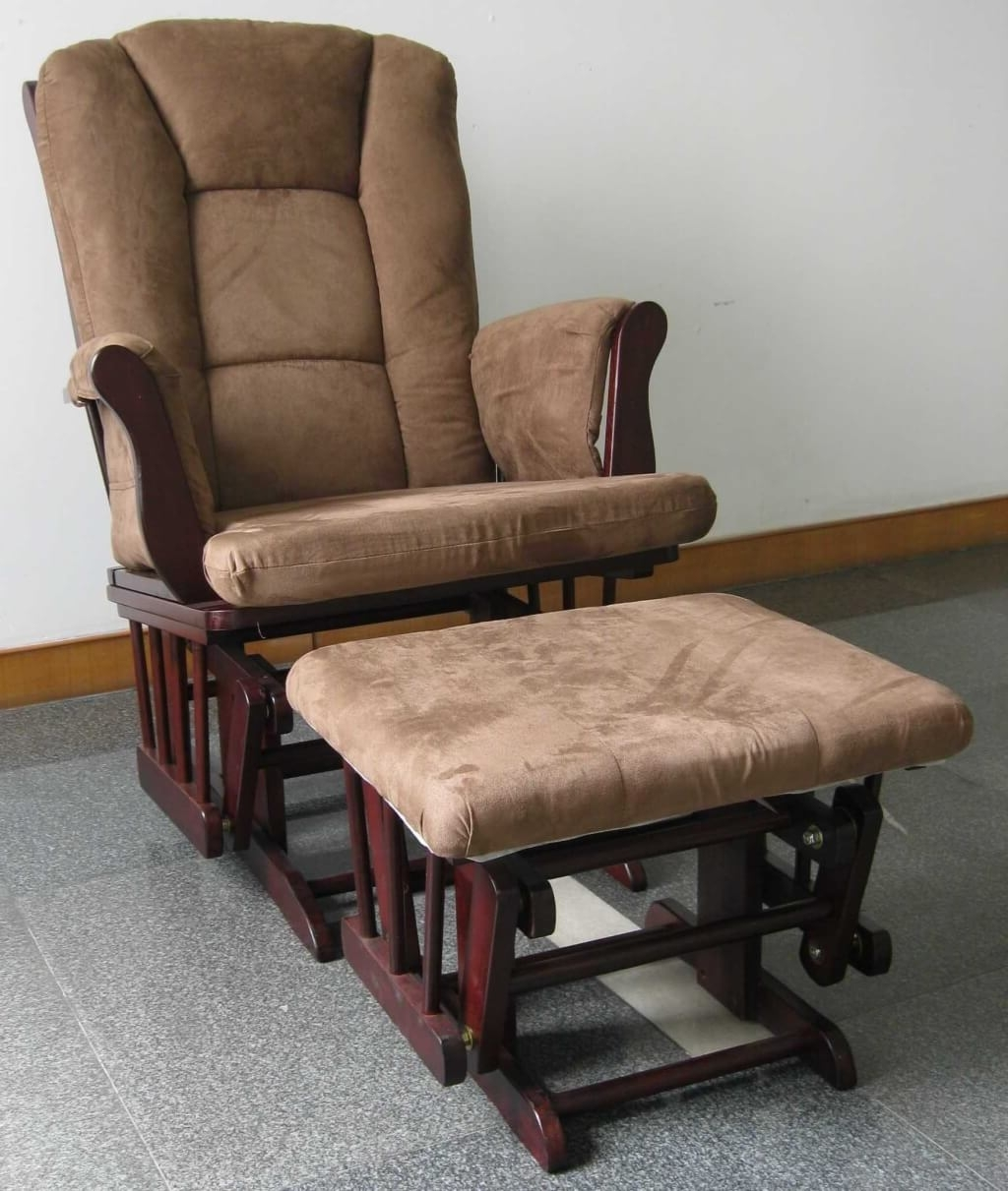 Rocking Chairs With Footrest Pertaining To Trendy Beautiful Wooden Rocking Chairs Prices 11 Furniture Upholstered (View 14 of 20)