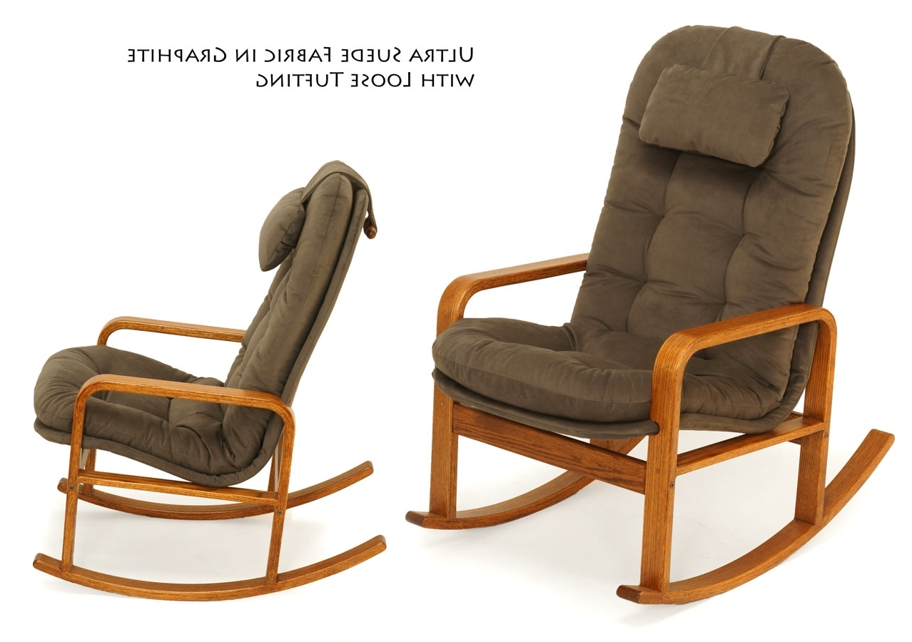 Rocking Chairs With Lumbar Support Intended For Fashionable Rocking Chairs For Every Body – Brigger Furniture (Gallery 19 of 20)