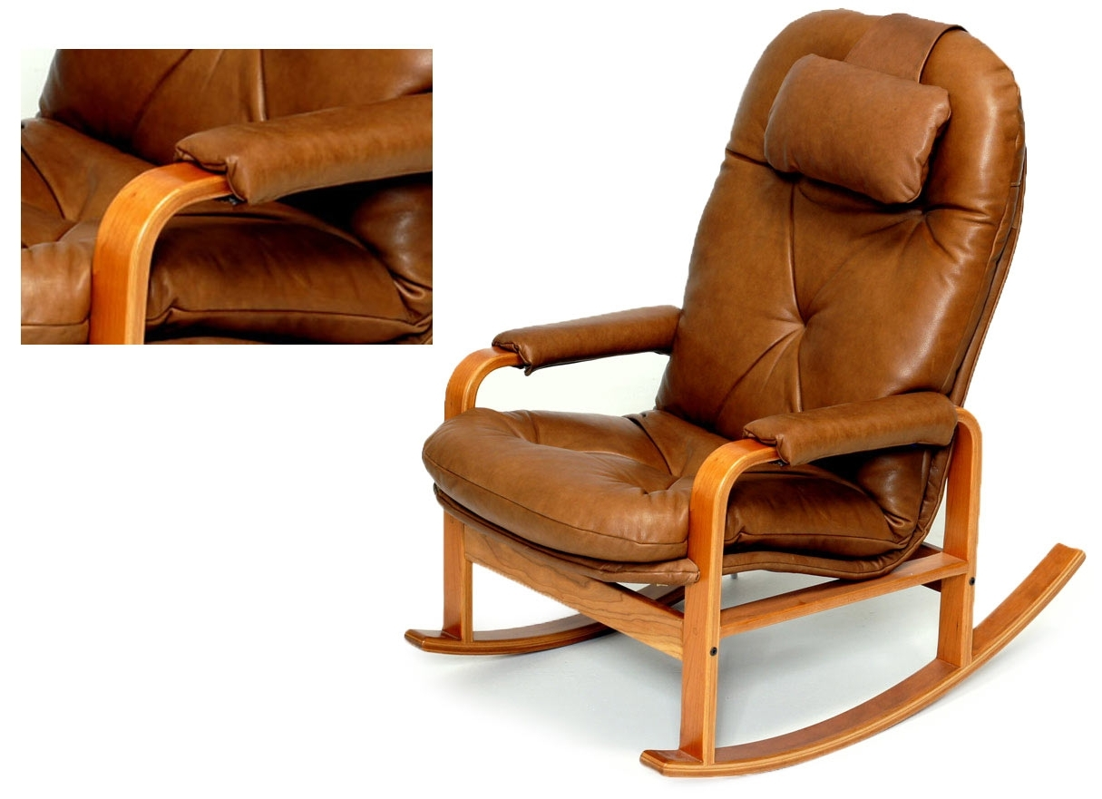 Rocking Chairs With Lumbar Support With Current Rocking Chairs For Every Body – Brigger Furniture (View 3 of 20)