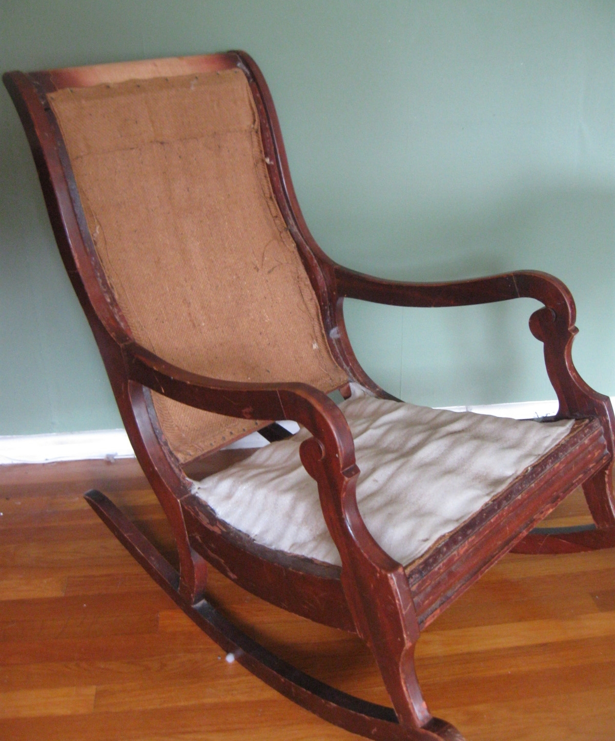 Rocking Chairs With Lumbar Support Within Newest Upholster Paint Rocking Chair Part Prodigal Pieces Chairs With (View 8 of 20)
