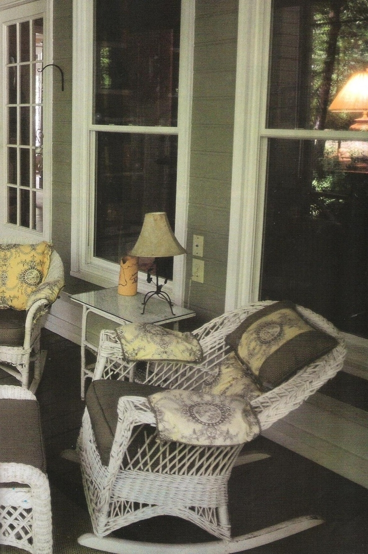 Rocking Chairs With Springs For Popular Antique Wicker Rocking Chair With Springs (View 18 of 20)
