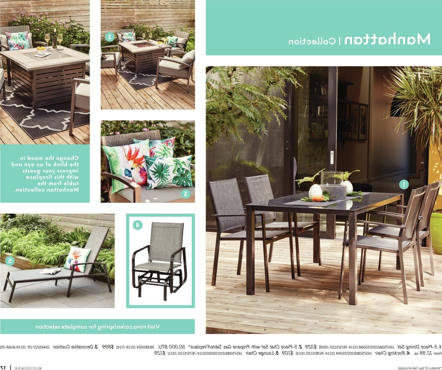 Rona Canada Outdoor Patio Furniture – Patio Designs Within Most Popular Rona Patio Rocking Chairs (View 11 of 20)