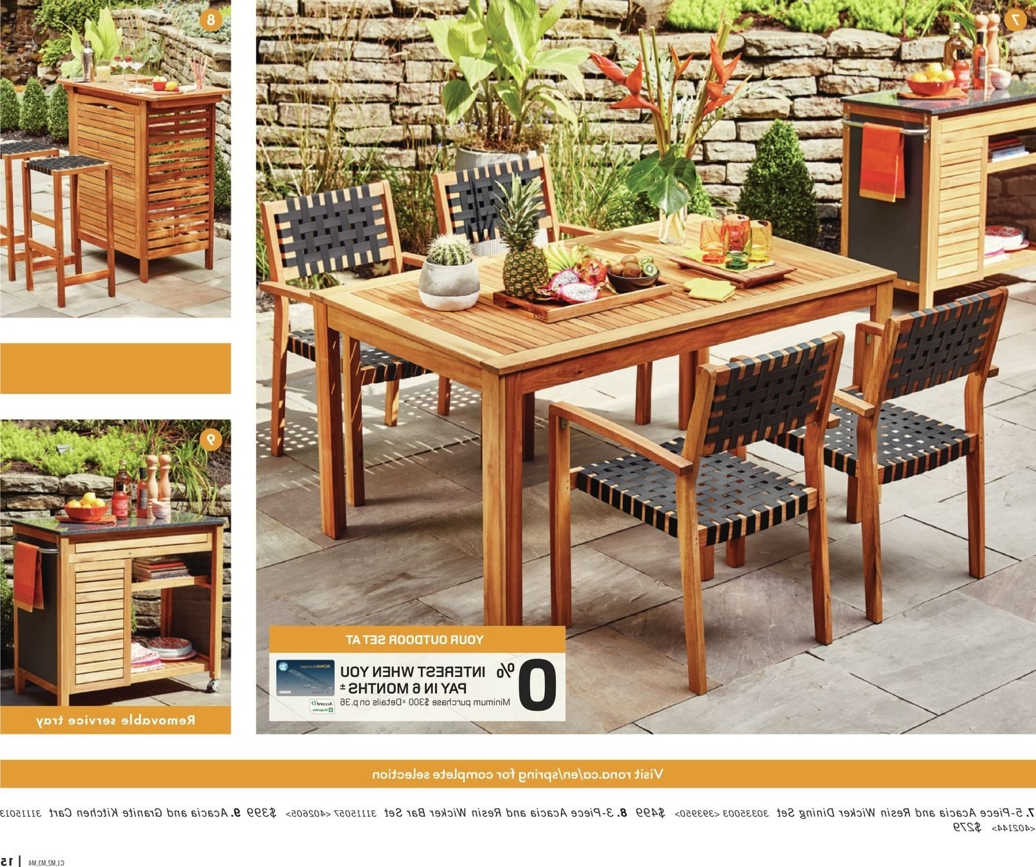 Rona Patio Rocking Chairs With Famous Rona Weekly Flyer – Enjoy Your Backyard – Mar 22 – Apr (View 5 of 20)