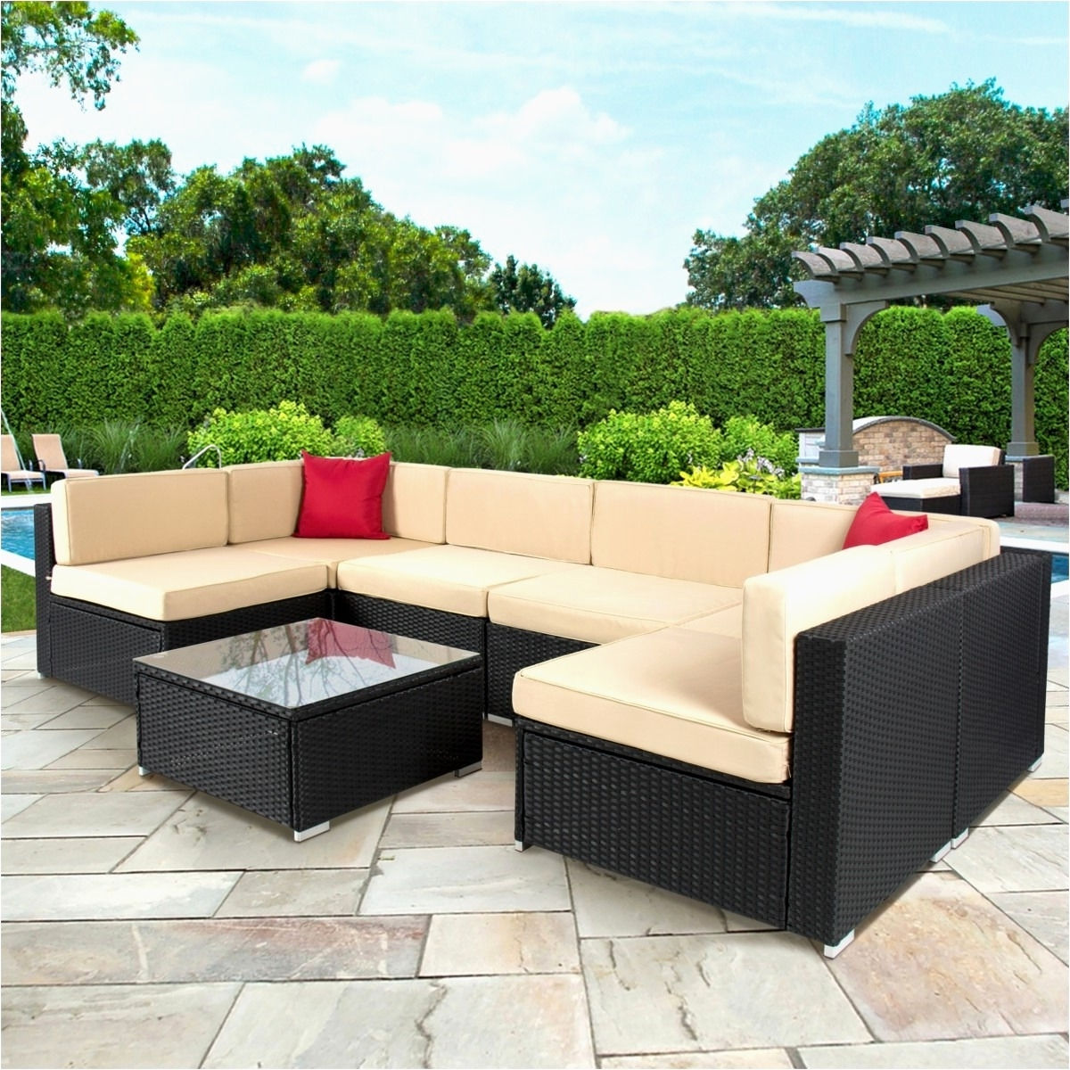 Sams Outdoor Furniture Photo Patio Dining Sets Sams Club Patio Pertaining To Most Popular Patio Conversation Sets At Sam's Club (View 13 of 20)