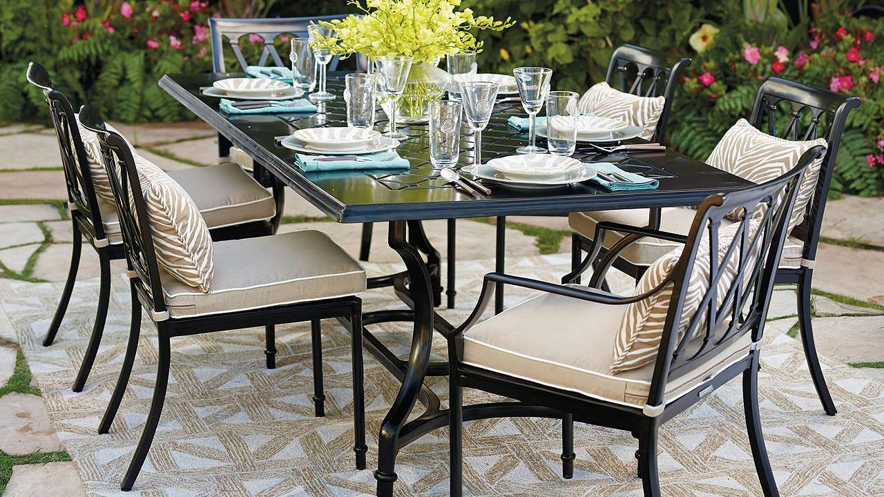 Sciclean Home Design : Luxury Outdoor Throughout Patio Conversation Dining Sets (View 13 of 20)