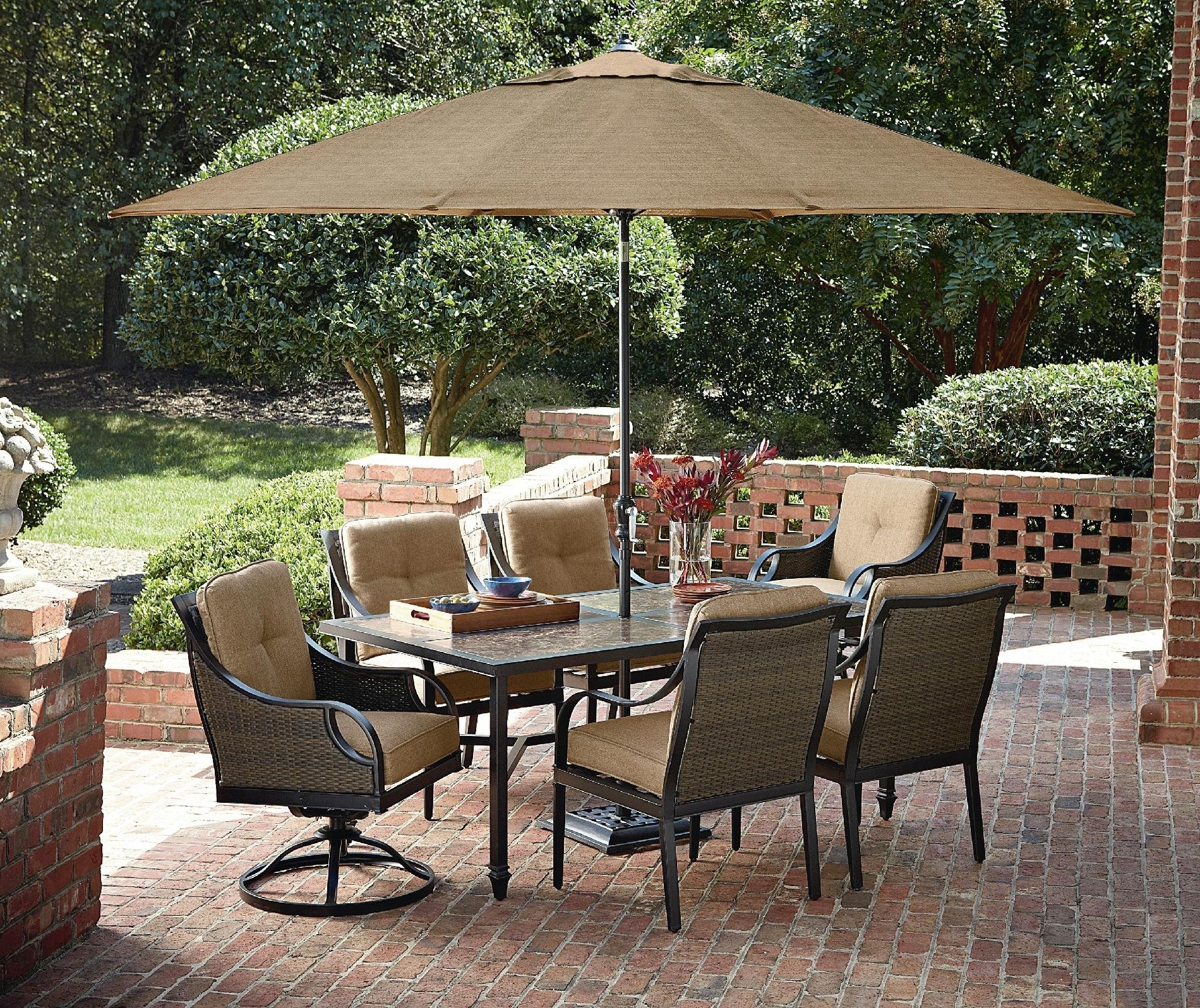 Sears Patio Furniture Conversation Sets Pertaining To Trendy Eye Patio Sears Furniture Ty Pennington For Conversation Sets (View 9 of 20)