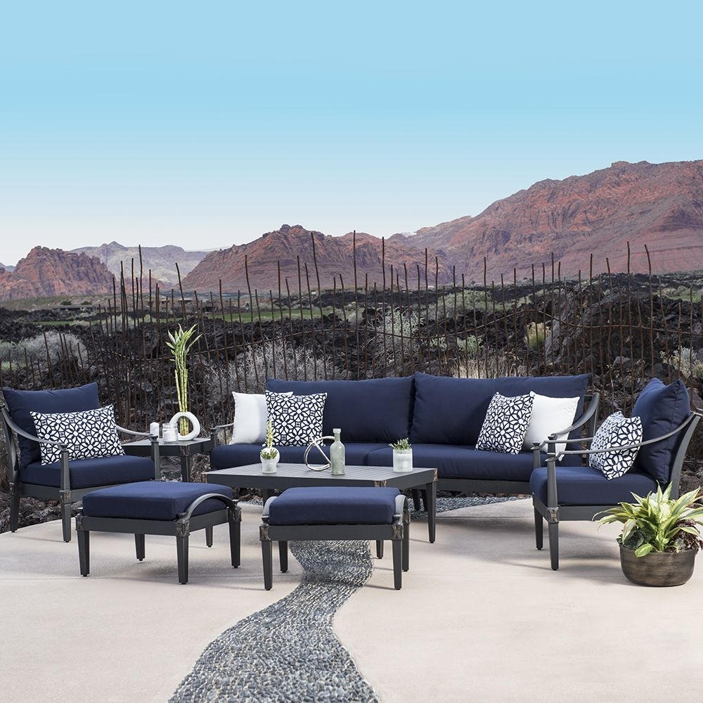 Featured Photo of Blue Patio Conversation Sets
