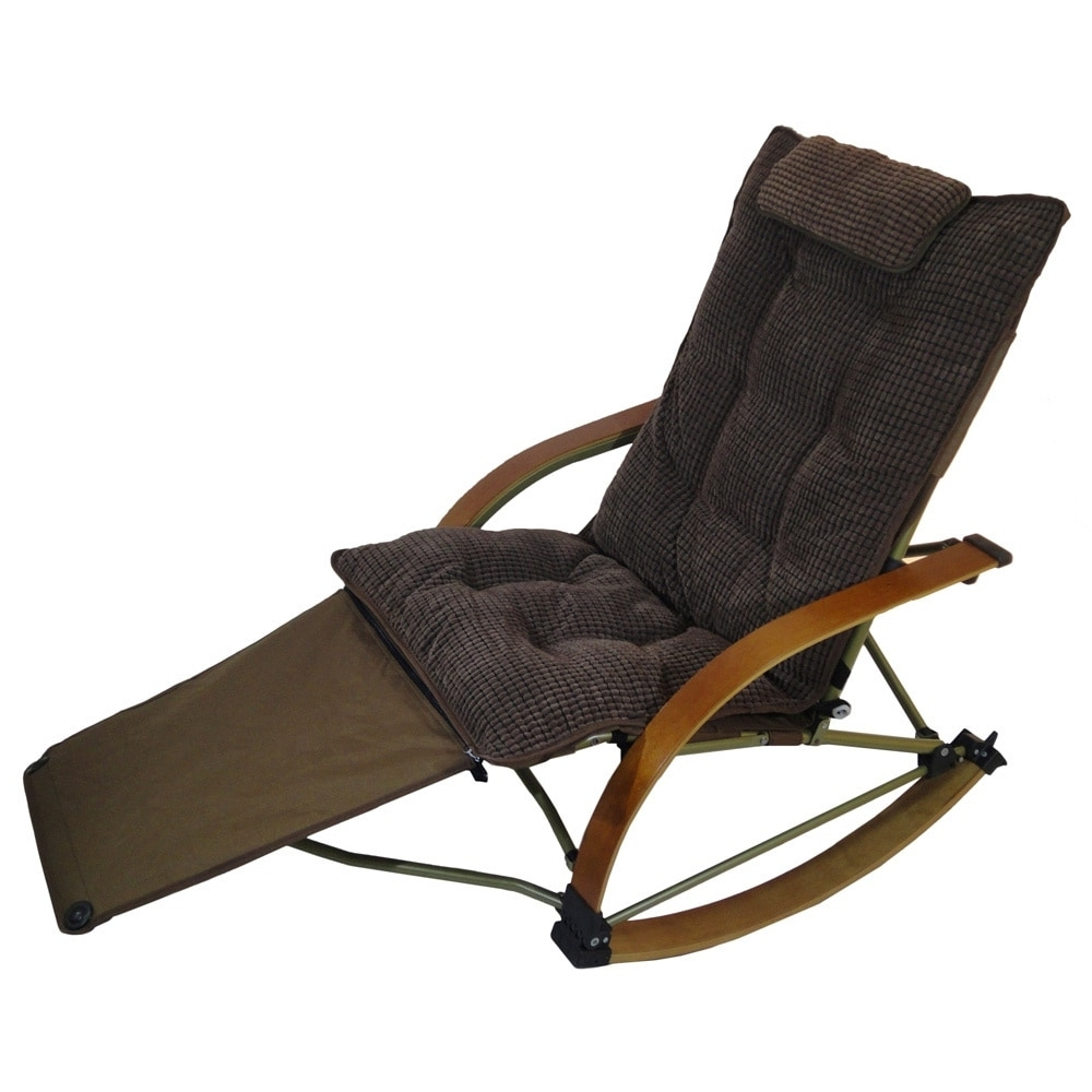Featured Photo of Rocking Chairs With Footrest