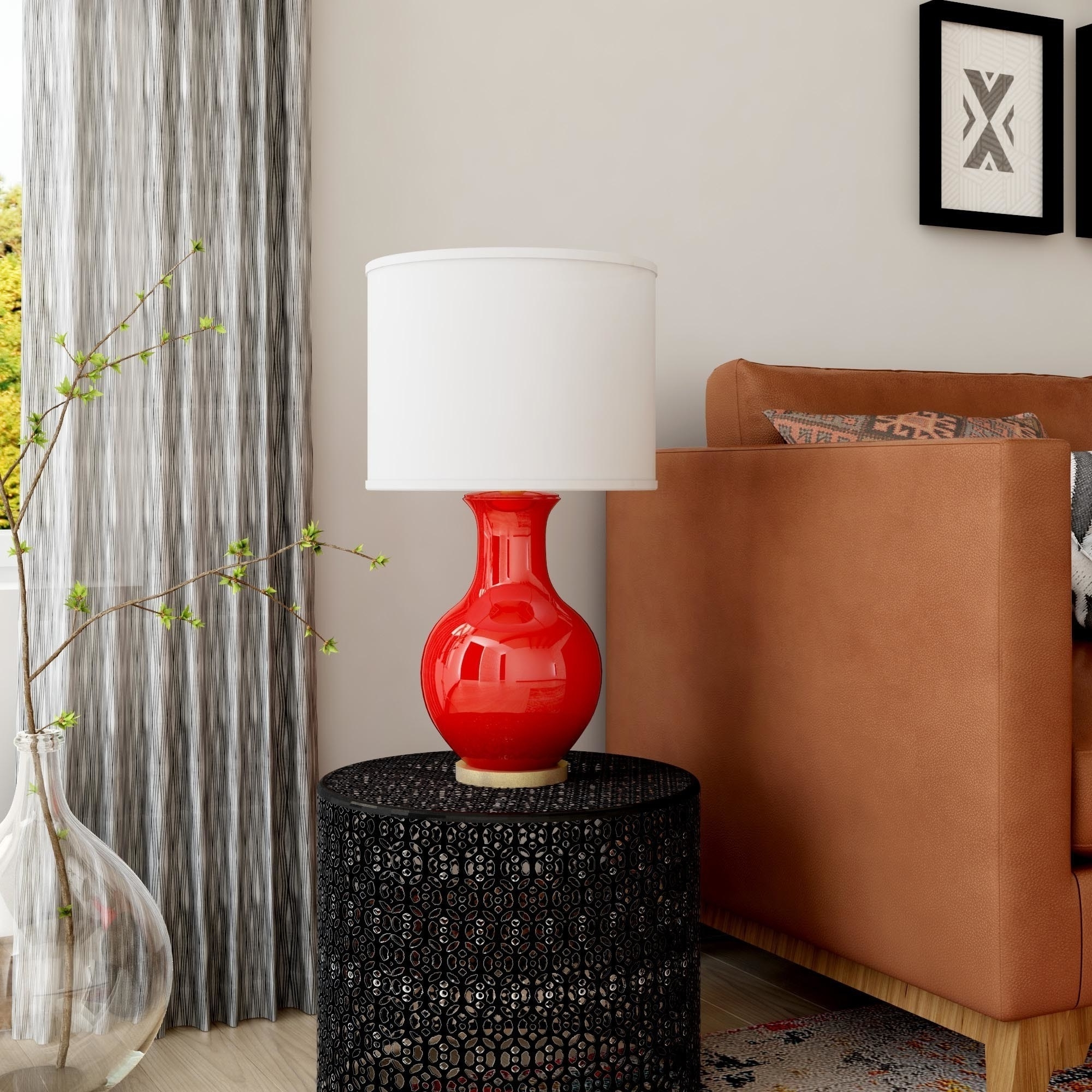 Shop Oliver & James Vija Ceramic Table Lamp – Free Shipping On Within Favorite Overstock Living Room Table Lamps (View 11 of 20)