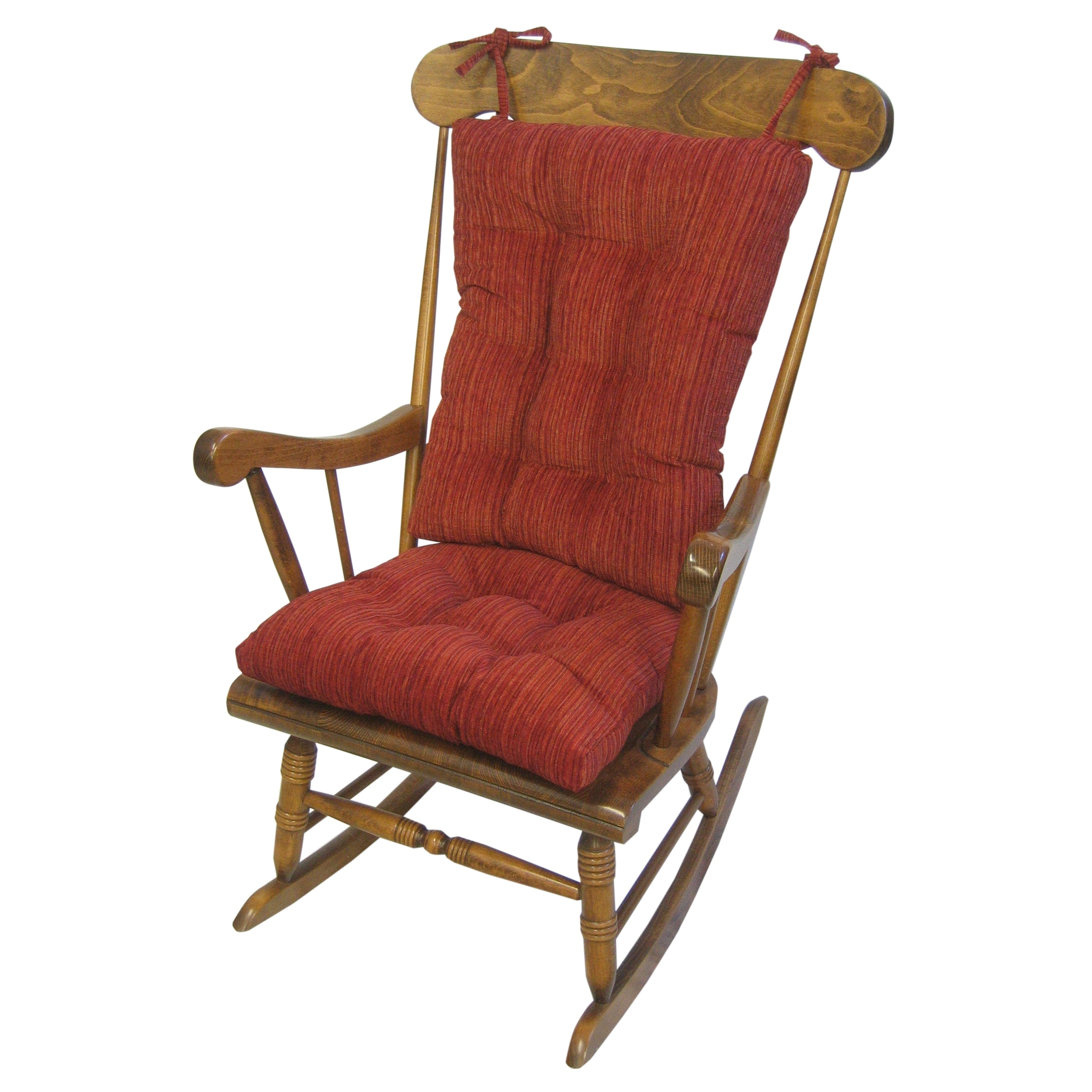 Shop Polar Garnet Red Xl Universal Rocking Chair Set – Free Shipping Intended For Recent Xl Rocking Chairs (View 4 of 20)