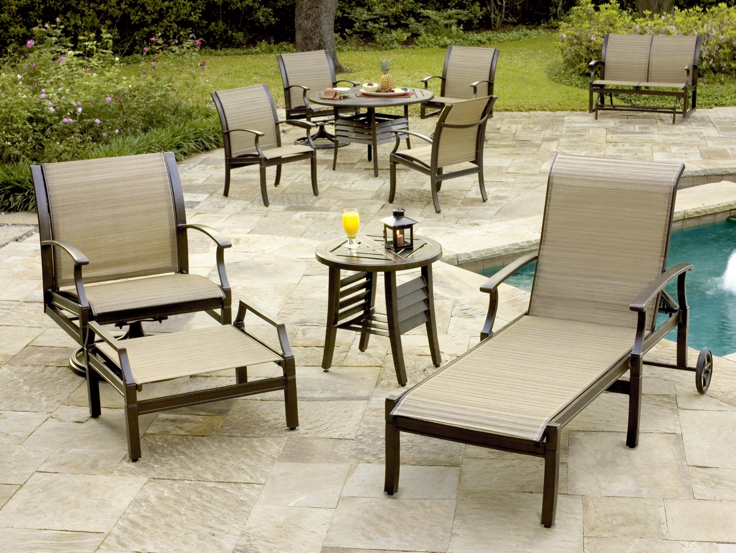 Featured Photo of Sling Patio Conversation Sets