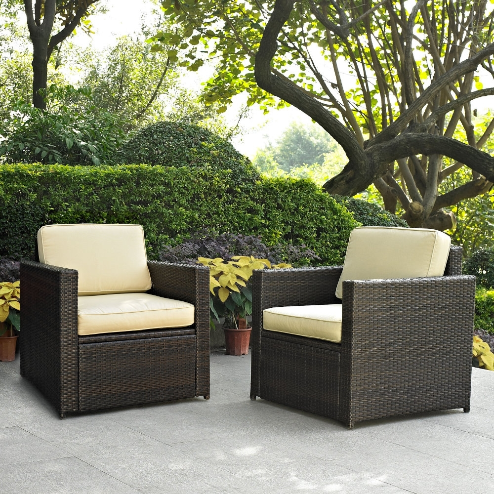 Small Outdoor Wicker Patio Furniture : Sathoud Decors – Ideas In Most Current Nfm Patio Conversation Sets (View 2 of 20)