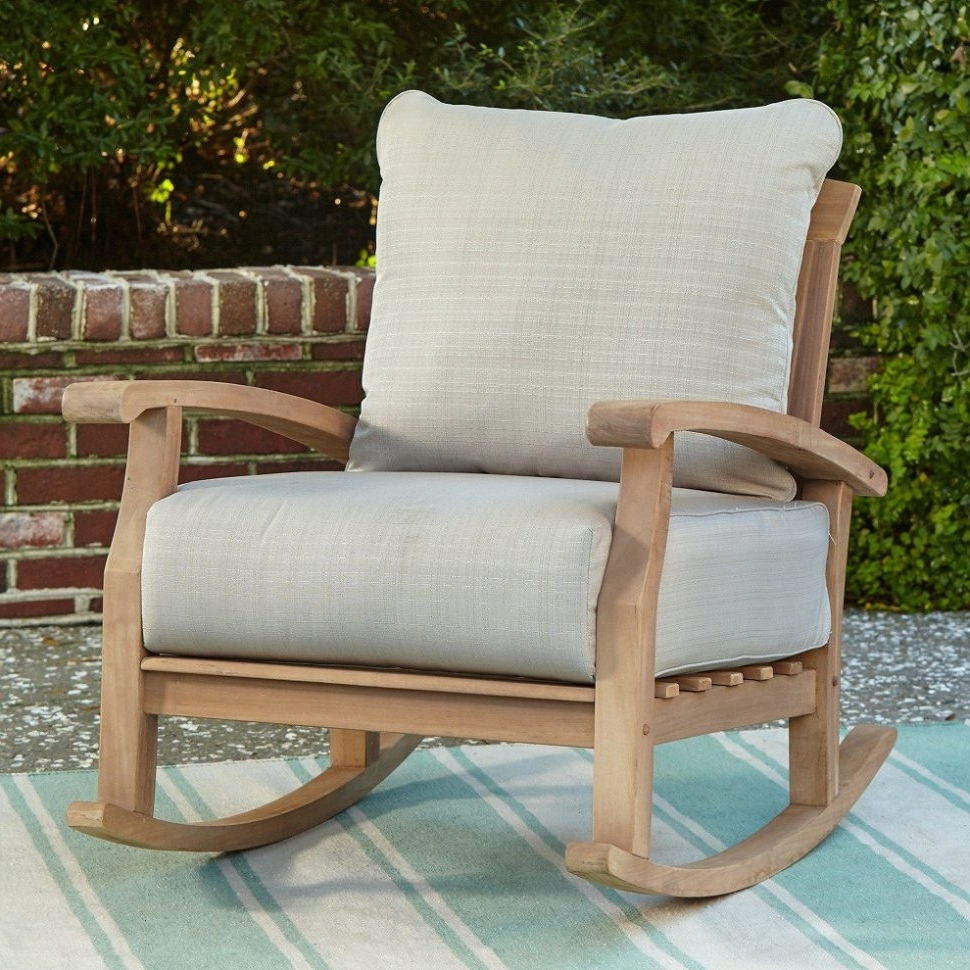 Stackable Patio Rocking Chairs Throughout Most Recent Outdoor Furniture : Exquisite Outdoor Plastic Furniture And Plastic (View 17 of 20)