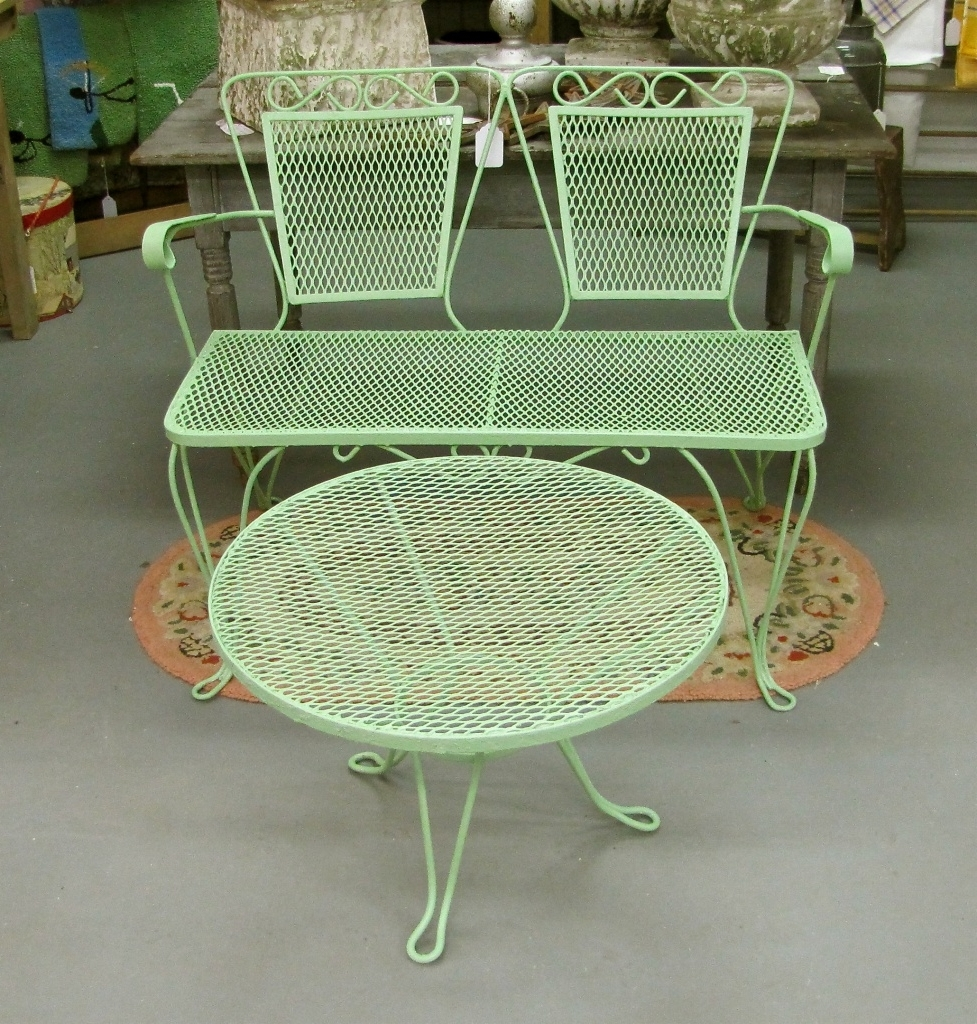 Steel Patio Conversation Sets With Regard To 2019 Surprising Patio Furniture Metal 15 Vintage Chairs (View 17 of 20)