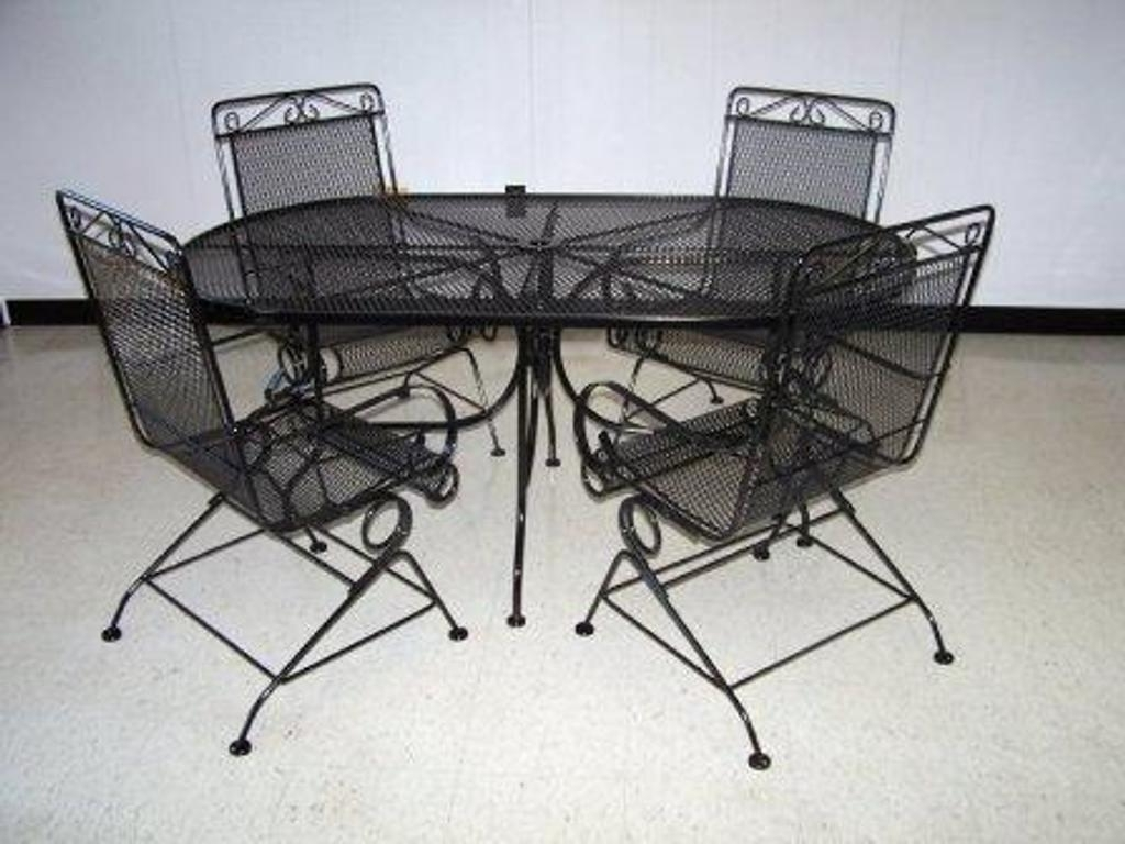 Steel Patio Furniture Sets : Outdoor Waco – Steel Patio Furniture With Regard To Well Known Steel Patio Conversation Sets (View 6 of 20)