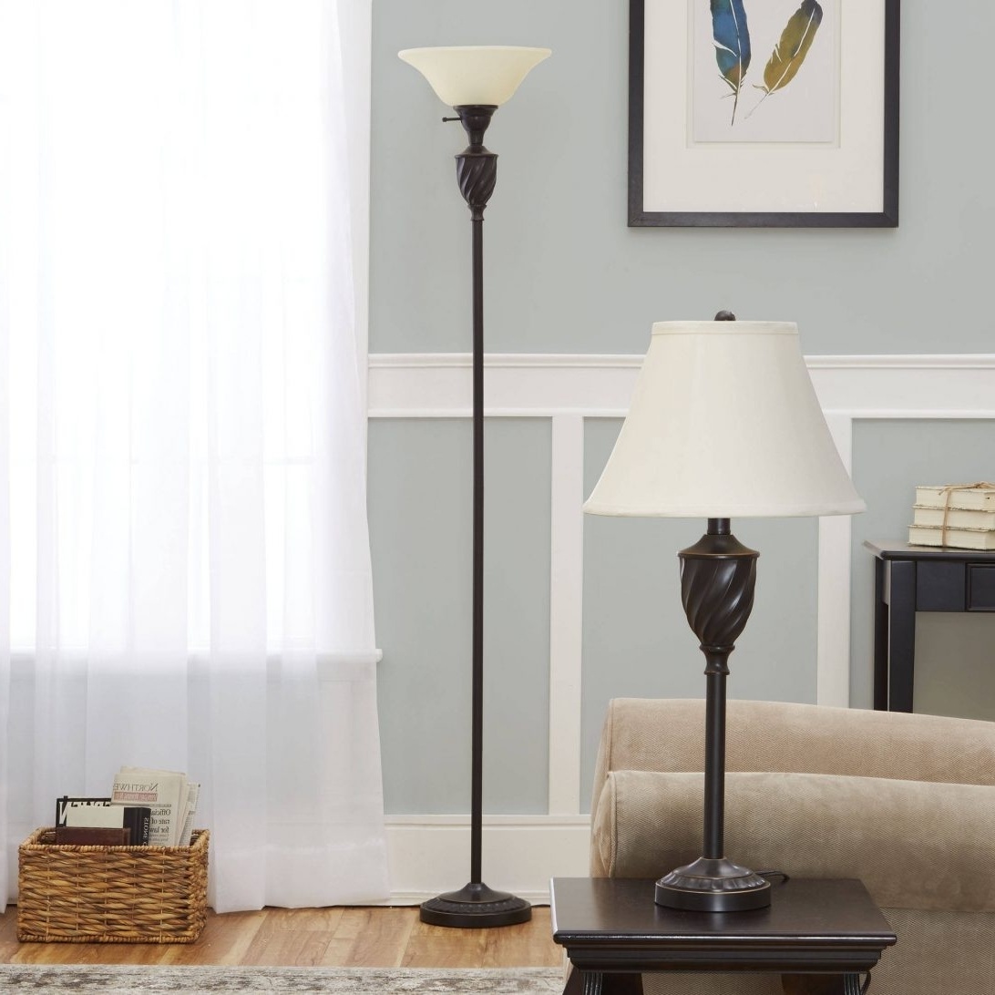 Surprising Living Room Table Lamps 18 Silver Lamp Set Walmart For Within Most Recently Released Living Room Table Lamps Sets (View 9 of 20)