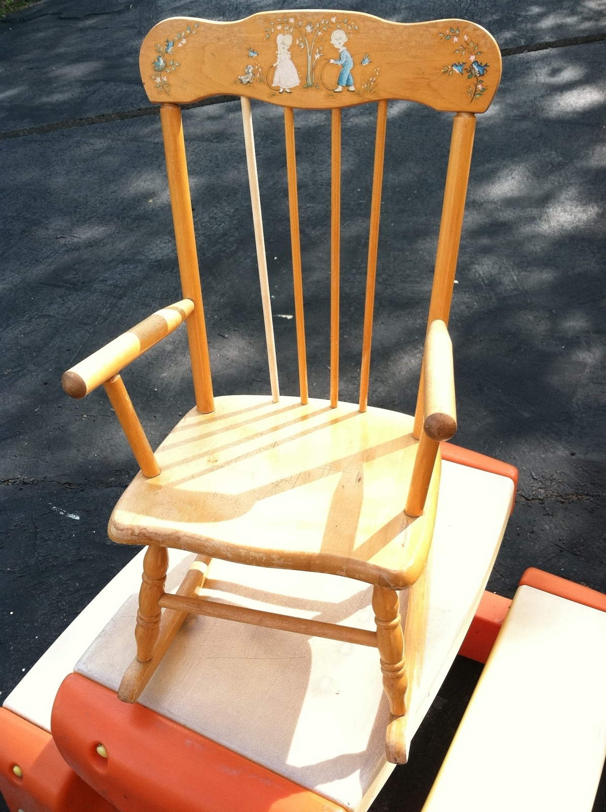 Sweet Rocking Chair Redo: Meet Adorable Adelaide Throughout Most Up To Date Rocking Chairs Adelaide (View 19 of 20)