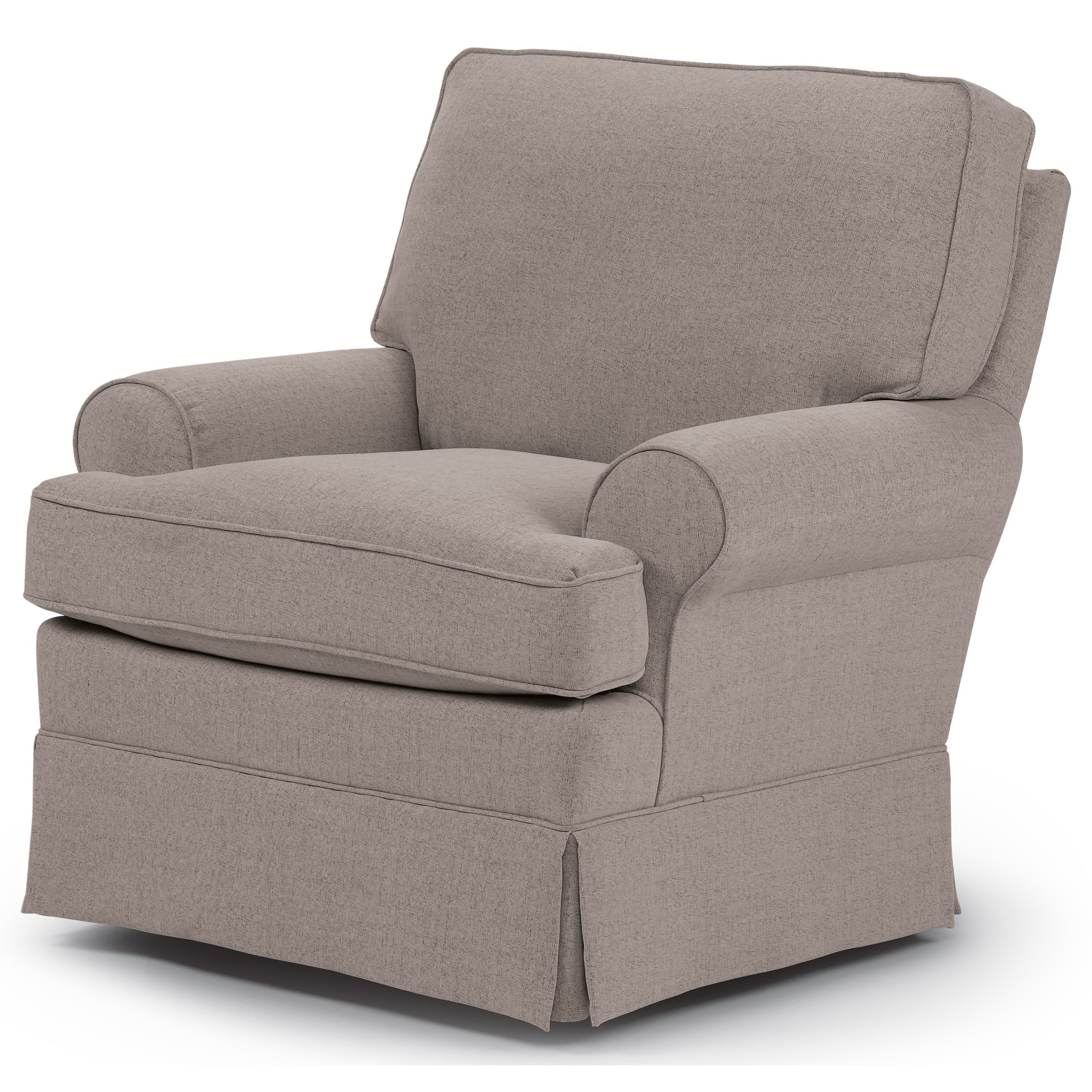 Swivel Rocking Chairs With Most Recently Released Best Home Furnishings Swivel Glide Chairs 1577 Quinn Swivel Glider (View 3 of 20)