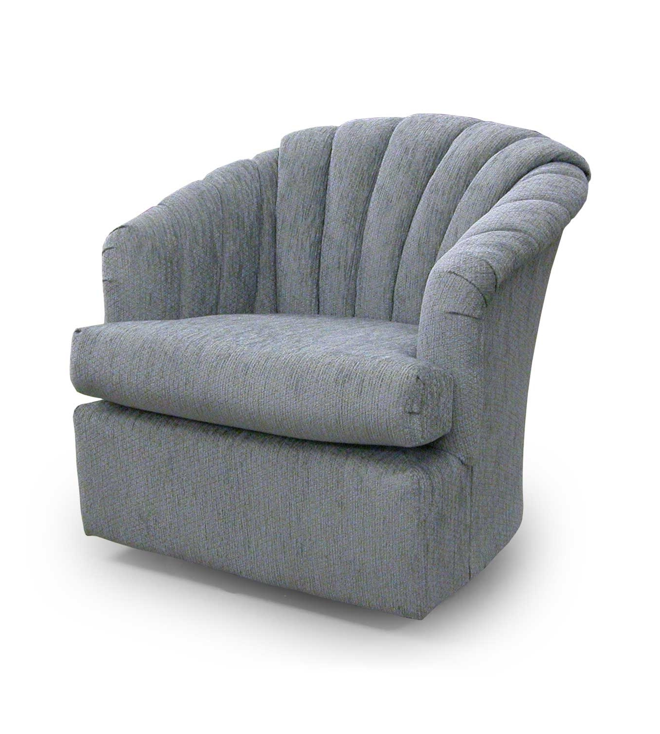 Swivel Rocking Chairs With Regard To Newest Grey Velvet Swivel Rocking Chairs With Back And Armchairs Of (View 5 of 20)