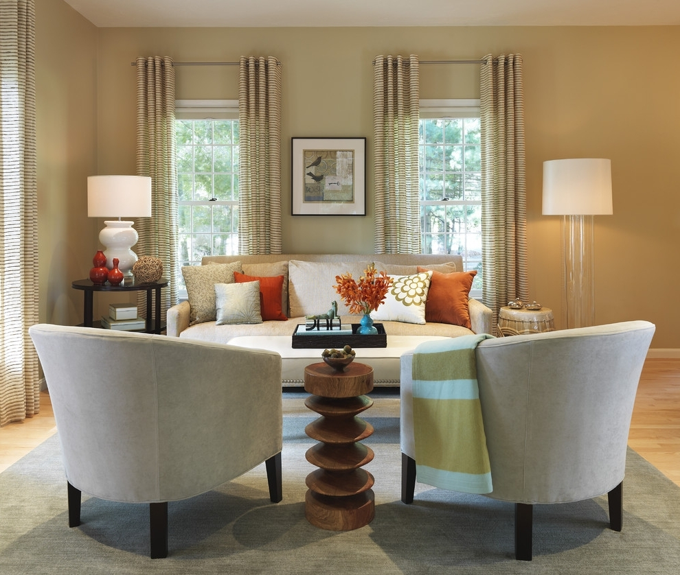 Table Lamps For Living Room Living Room Transitional With Printed With Regard To Latest Living Room Coffee Table Lamps (View 20 of 20)