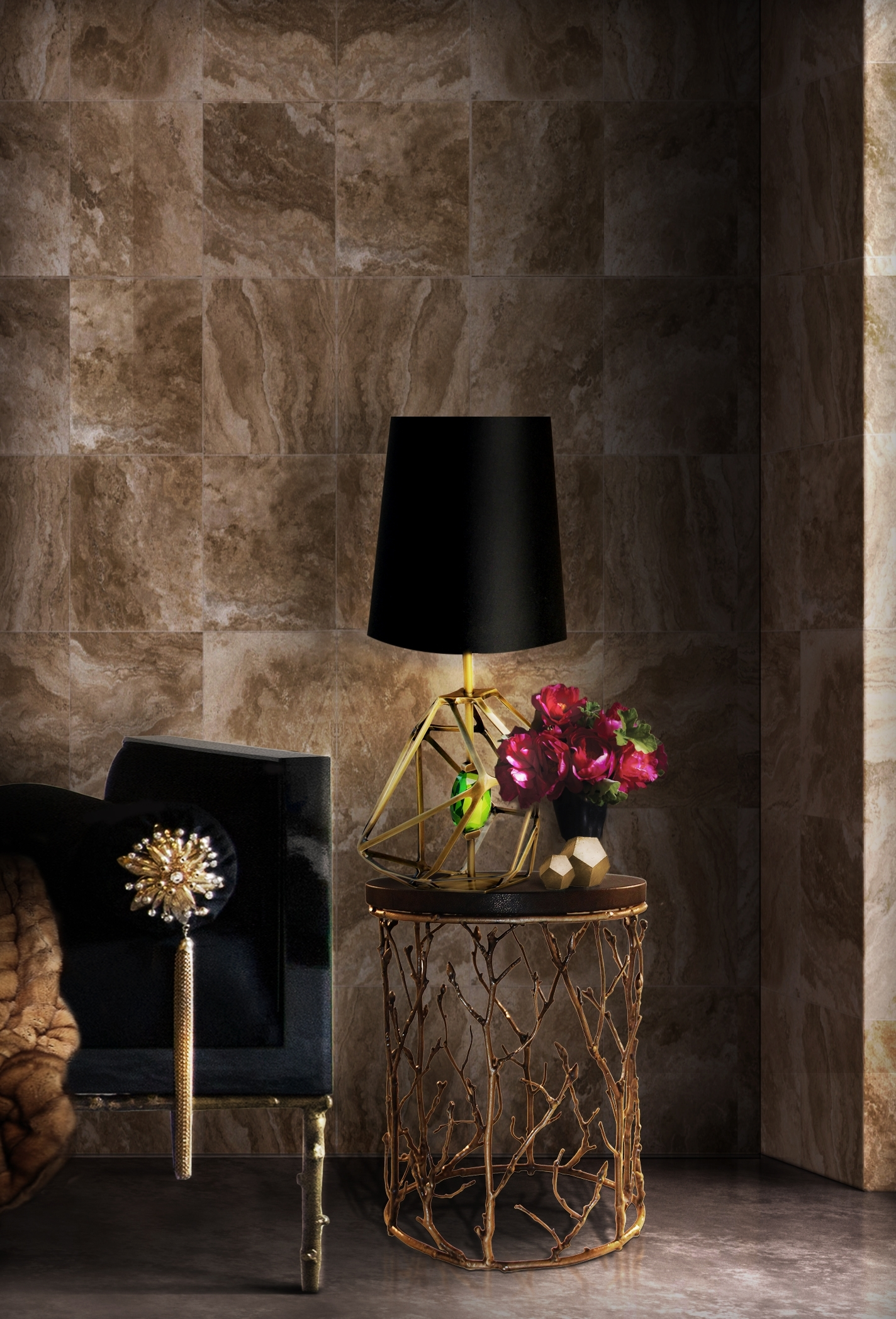 Table Lamps For Living Room Regarding Famous How To Decorate Your Living Room With Floor And Table Lamps (View 18 of 20)