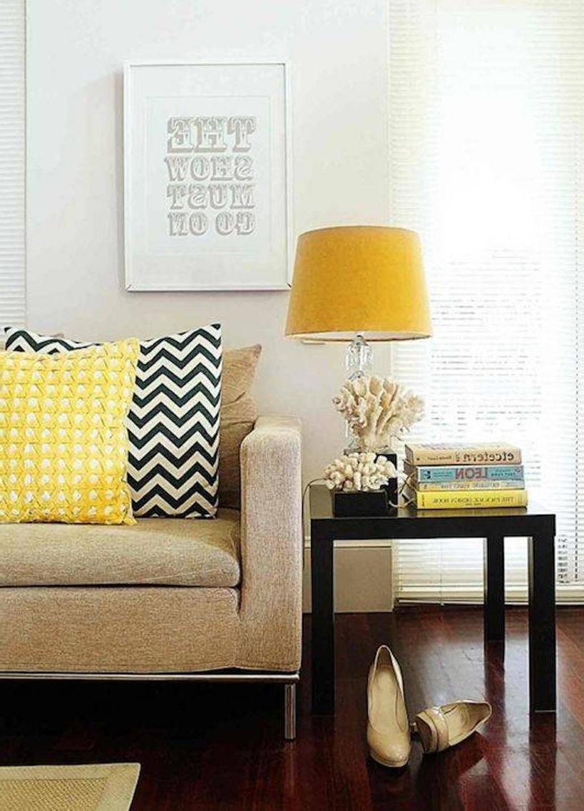 Table Lamps For The Living Room Pertaining To Newest Yellow Table Lamps For Living Room — S3Cparis Lamps Design : Cozy (View 15 of 20)