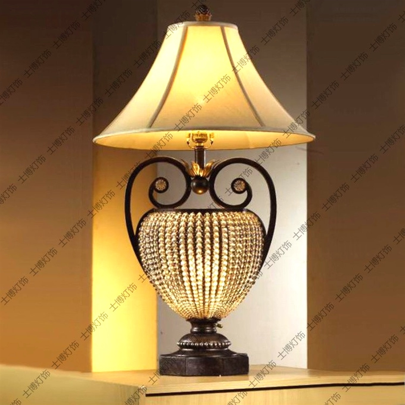 Table Lamps For Traditional Living Room Pertaining To Famous Furniture : Light Mainstays Floor Lamp Silver Walmart With Standing (View 6 of 20)