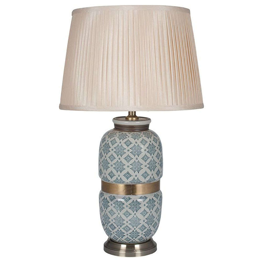 Table Lamps Uk  Candle And Blue (View 17 of 20)