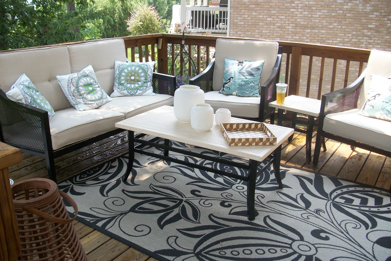 Target Patio Furniture Conversation Sets Inside Best And Newest Patio : Outdoor Patio Furniture Walmart Target Engaging Image (View 5 of 20)