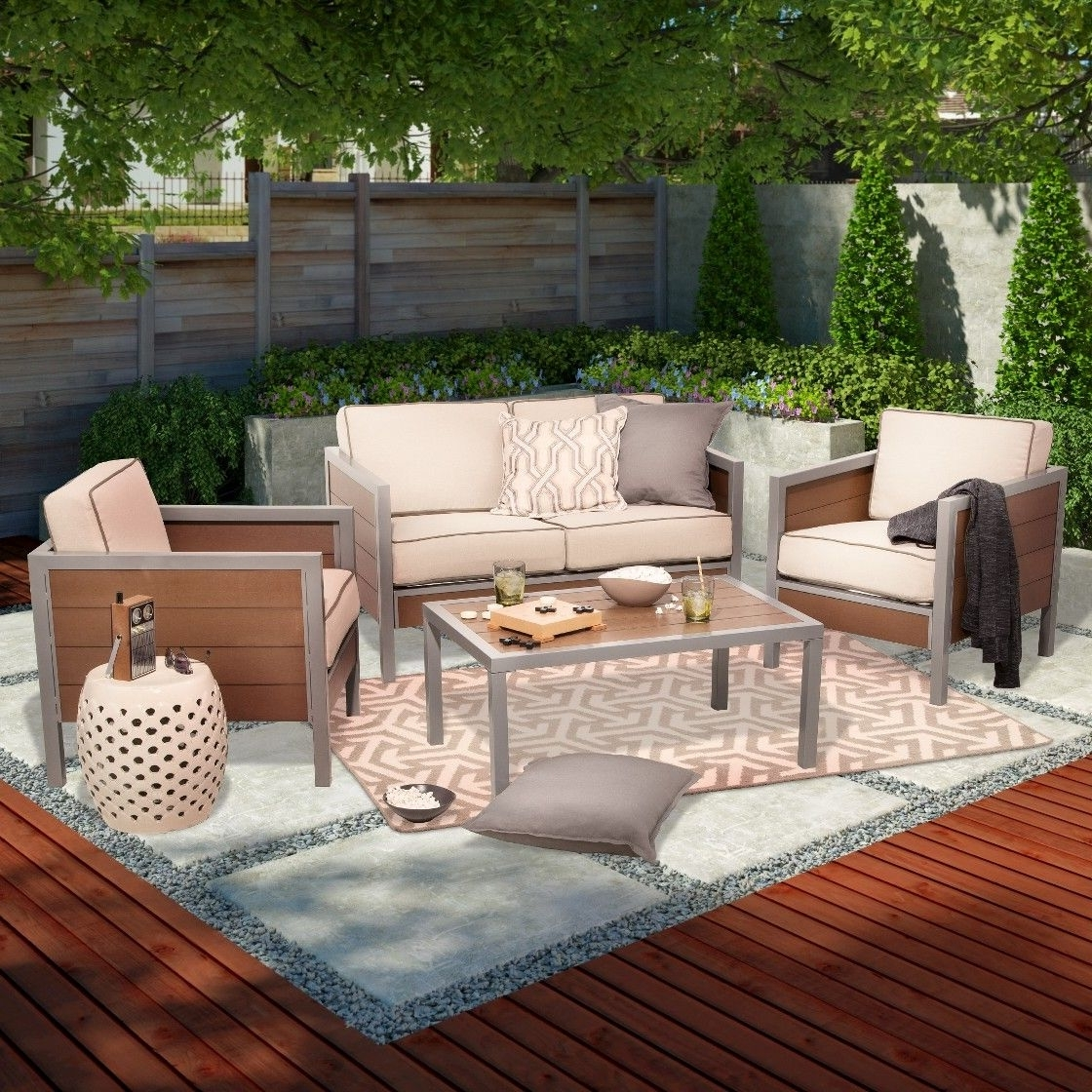 Target Patio Furniture Conversation Sets Intended For Most Popular 849. On Sale At Target. (View 14 of 20)