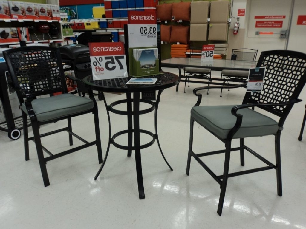 Target Small Patio Sets Clearance Space Outdoor On Bistro Patio For 2018 Patio Conversation Sets At Target (View 16 of 20)