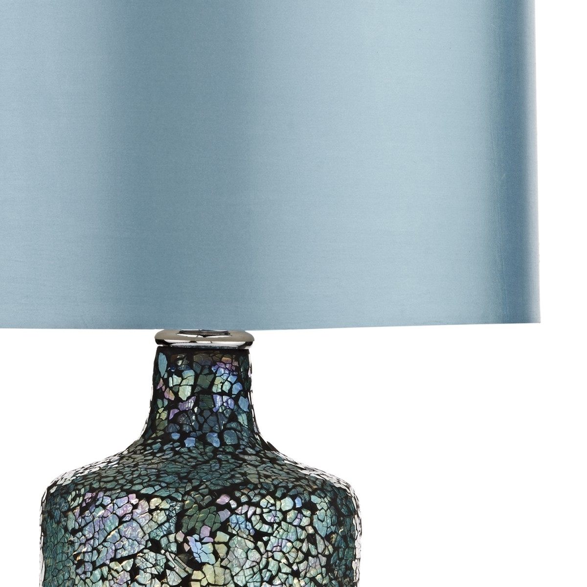 Teal Living Room Table Lamps Throughout Newest Lamp : Shonna Blue And White Porcelain Jar Table Lamp Amazon Com (View 17 of 20)