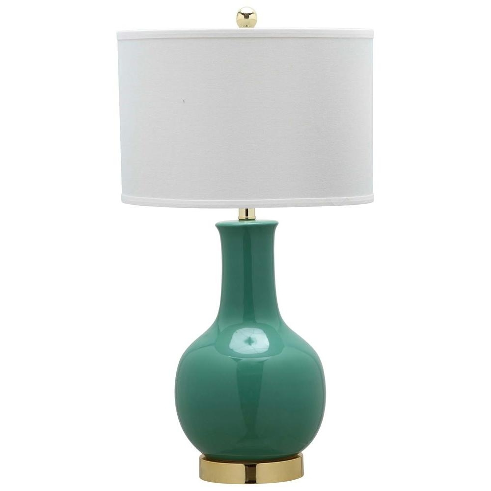 Teal Living Room Table Lamps With Regard To 2019 Blue Table Lamps For Living Room – Living Room Ideas (View 14 of 20)
