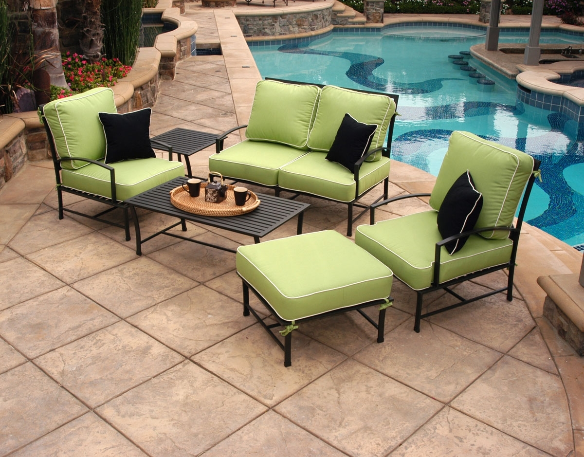 The Magic Of Sunbrella Fabric – Sunbrella Fabric Review Throughout Newest Sunbrella Patio Conversation Sets (View 6 of 20)