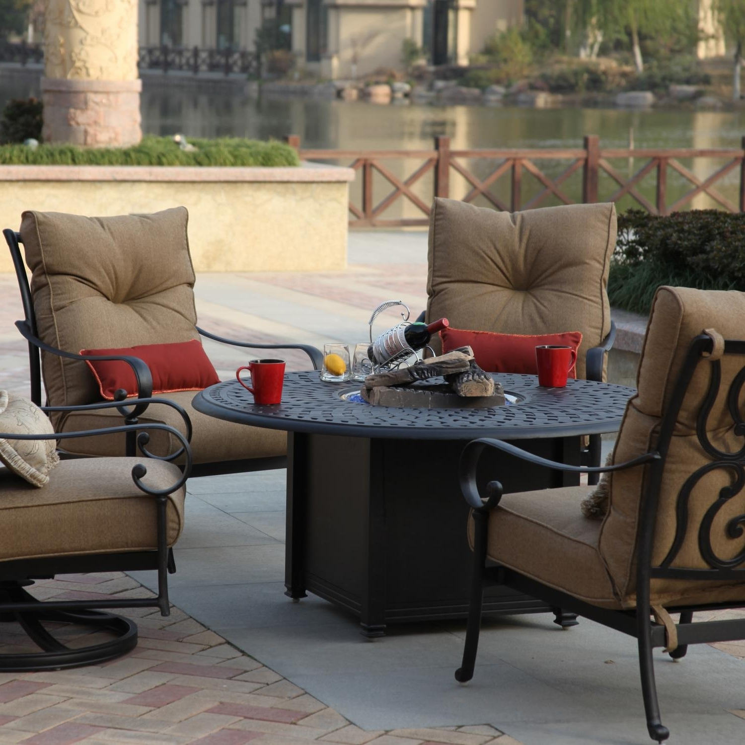 The Outdoor Within Deep Seating Patio Conversation Sets (View 19 of 20)