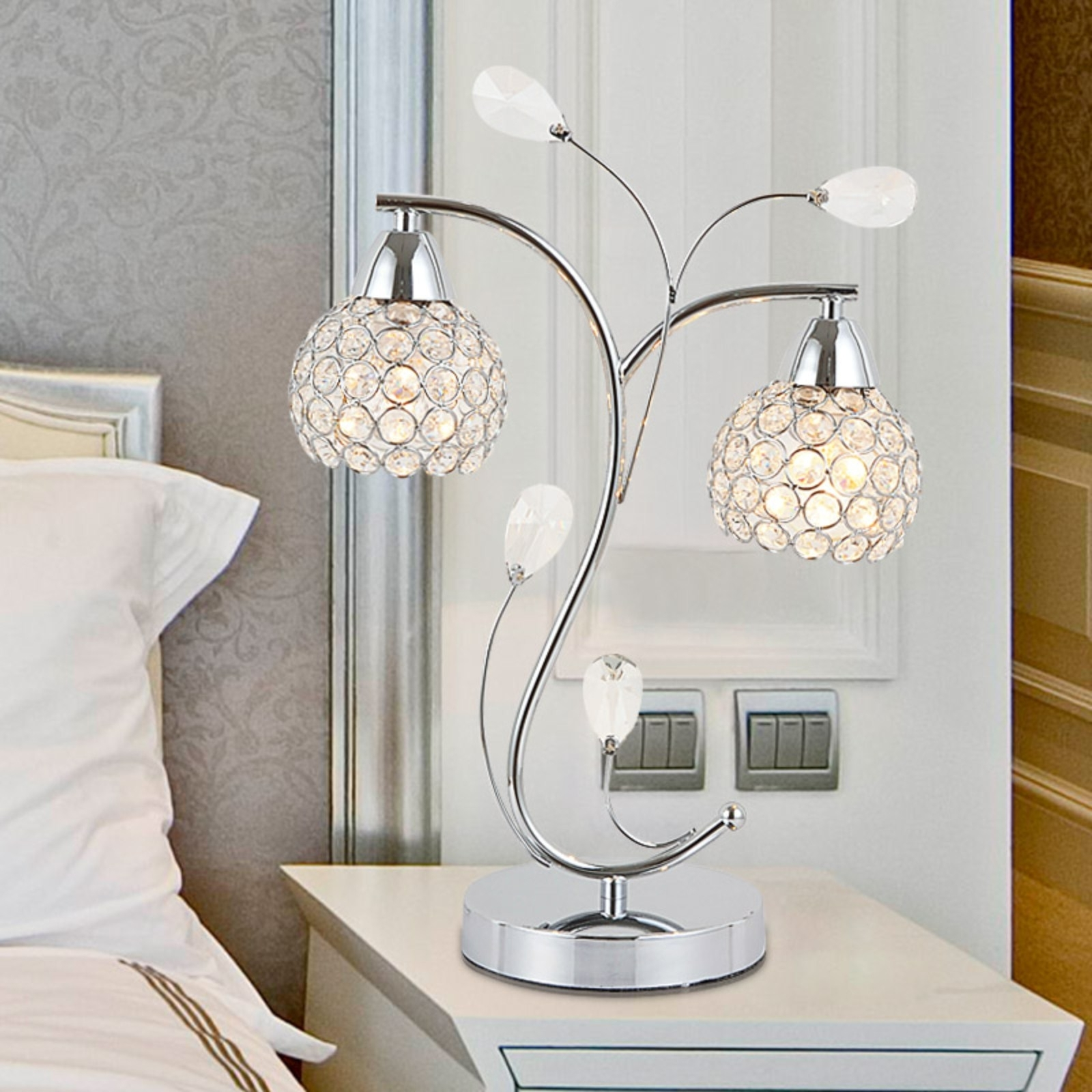 Top 59 Terrific Blue Lamp Led Table Modern Lamps For Living Room Intended Fashionable