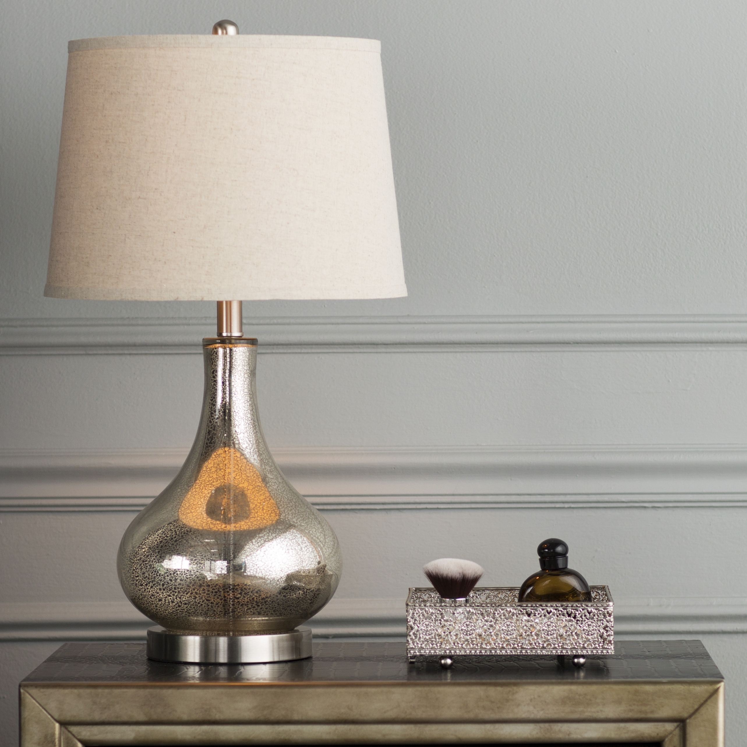 Top 69 Fine Touch Table Lamps Silver Blue Lamp Living Room Wayfair In 2019 Wayfair Living Room Table Lamps (View 10 of 20)
