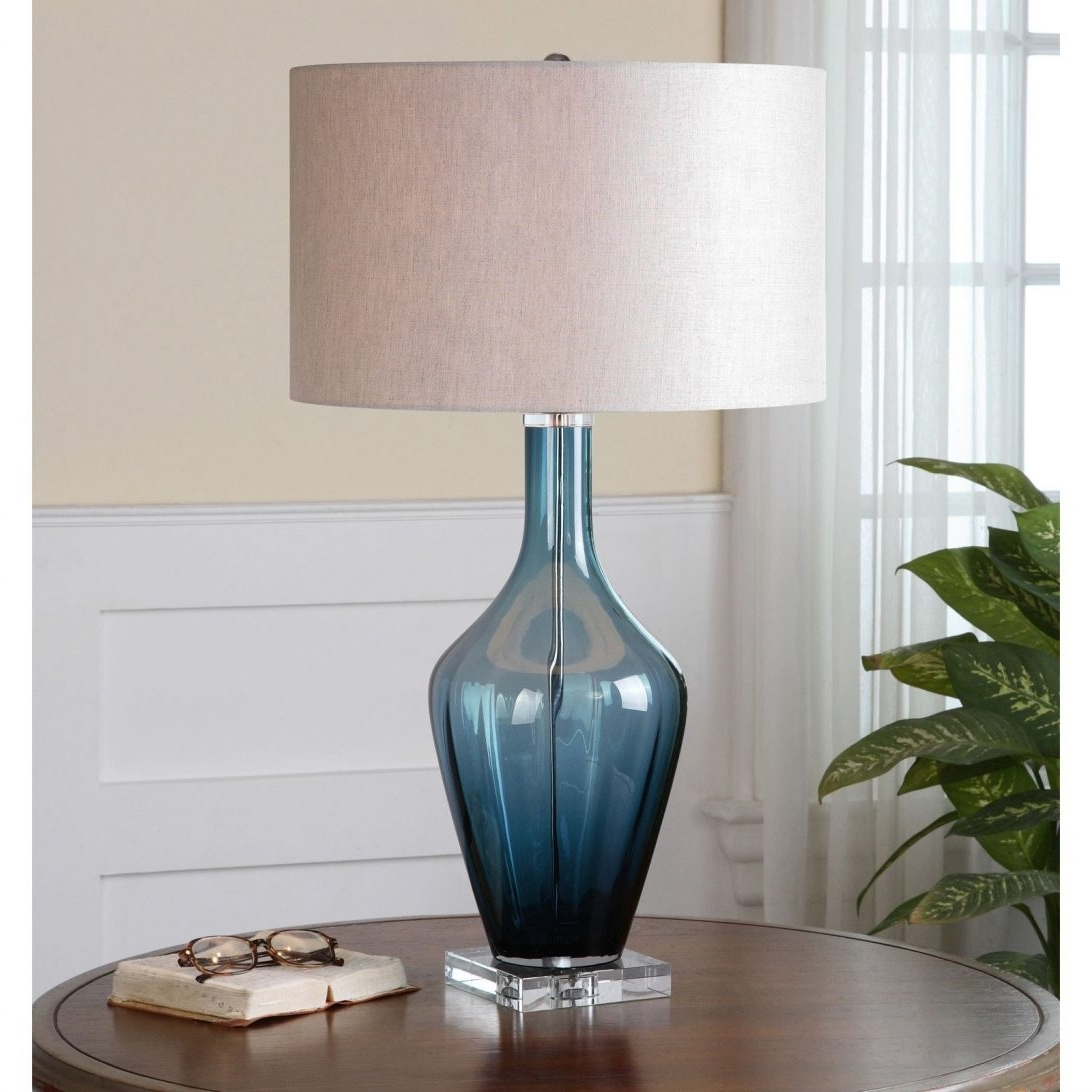 Top 72 Blue Chip Tiffany Table Lamps Antique Glass For Living Room Inside Well Known Blue Living Room Table Lamps (Gallery 7 of 20)
