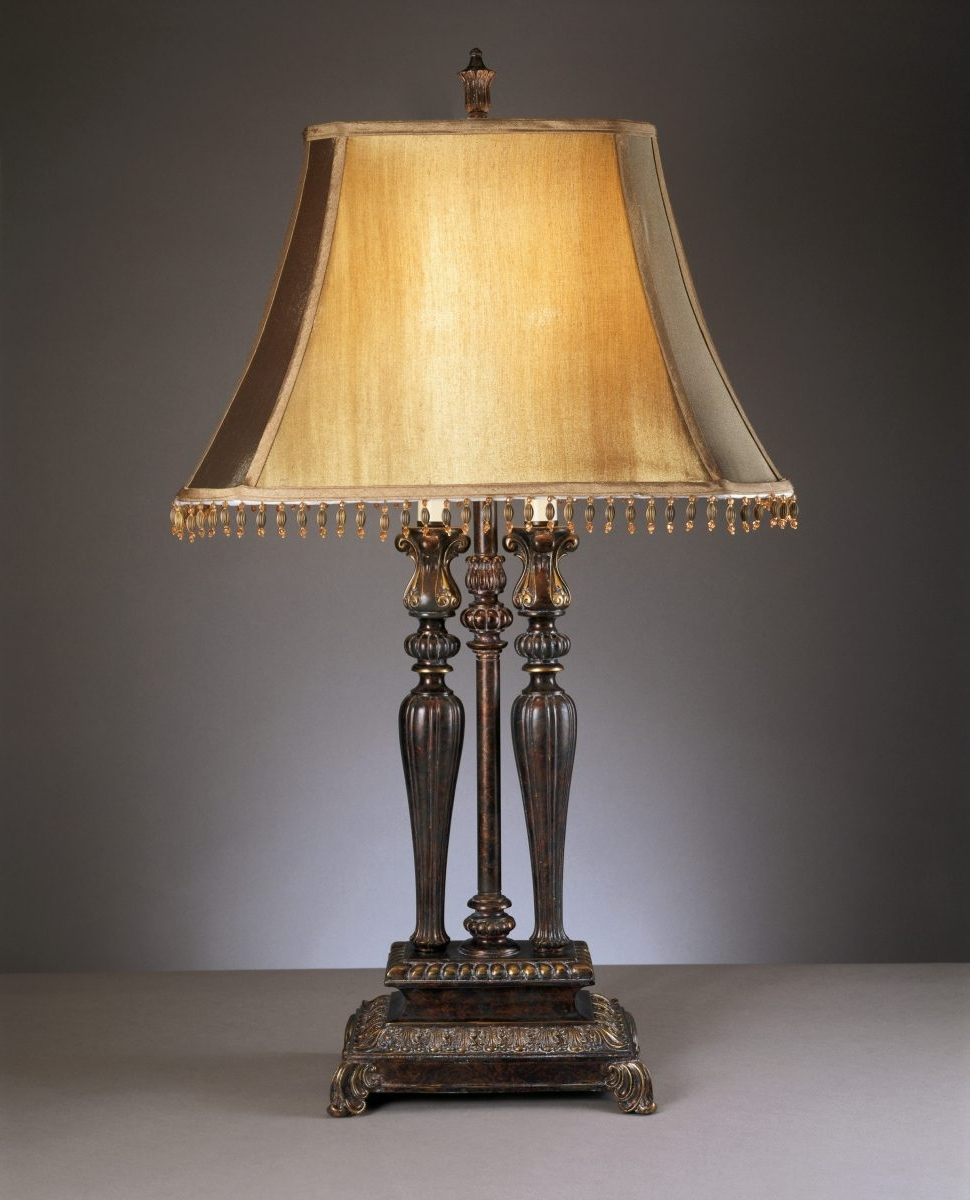 Traditional Table Lamps For Living Room Inside Most Recent Furniture : Traditional Desk Lamps Lighting And Ceiling Fans For (View 15 of 20)