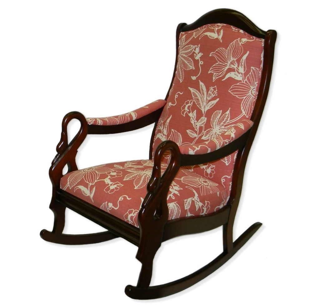 Trendy Goose Neck Rocker – Twin Rivers Furnishings In Rocking Chairs With Lumbar Support (View 9 of 20)