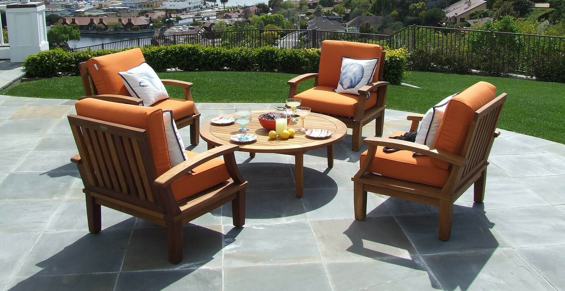 Trendy Patio Conversation Sets Under $500 Throughout 6 Best Patio Furniture Under $500 – Comparesix (View 17 of 20)