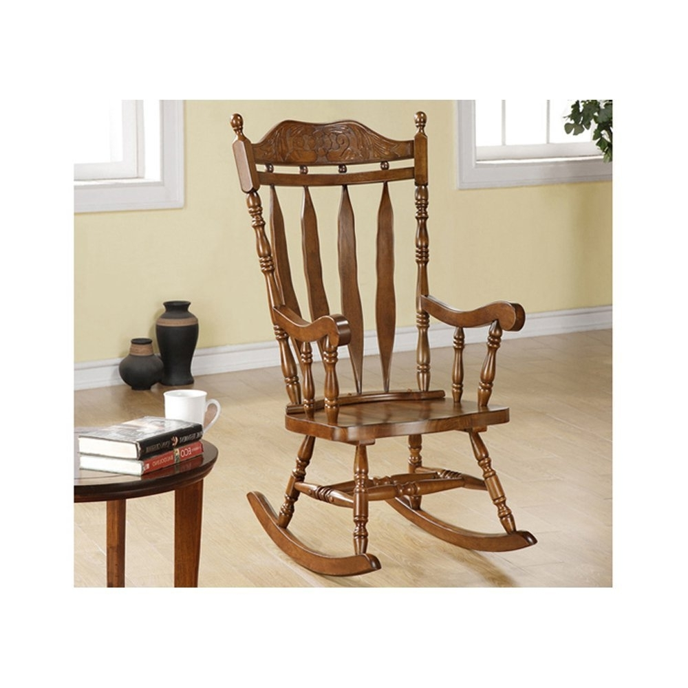 Trendy Rocking Chairs For Adults In Where To Buy Wooden Rocking Chairs With Indoor Wooden Rocking Chair (View 20 of 20)