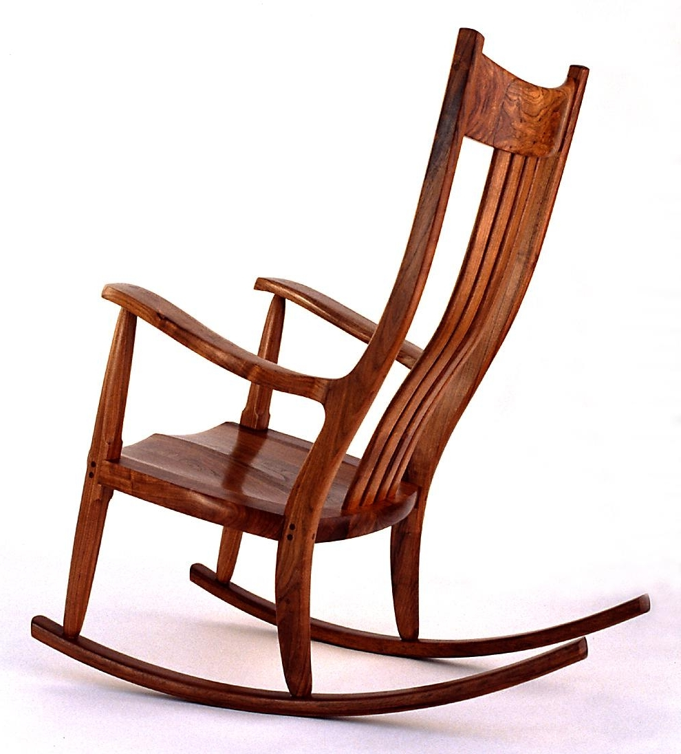 Trendy Unique Outdoor Rocking Chairs With Regard To Wooden Rocking Chairs Plans For Your Comfort Patio Furniture Table (View 13 of 20)