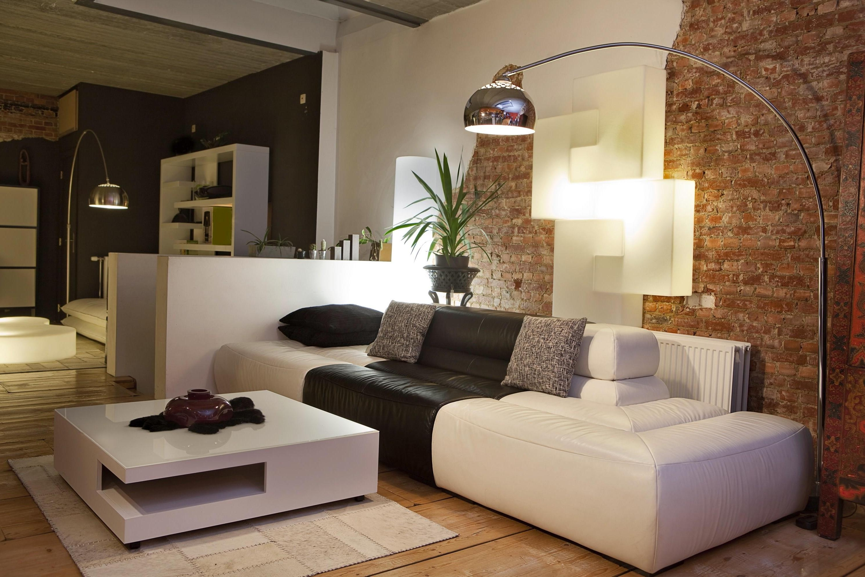 Trendy White Living Room Table Lamps Pertaining To How To Mix Modern Floor Lamp In Your Home Interiors Living Room (View 14 of 20)