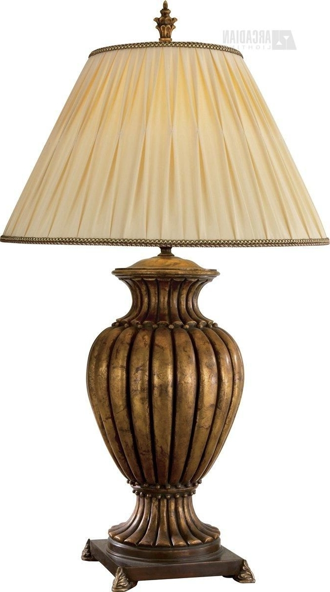 Tuscan Table Lamps For Living Room Regarding Current Glamorous Traditional Table Lamps For Living Room 20 Touch Of Class (View 16 of 20)
