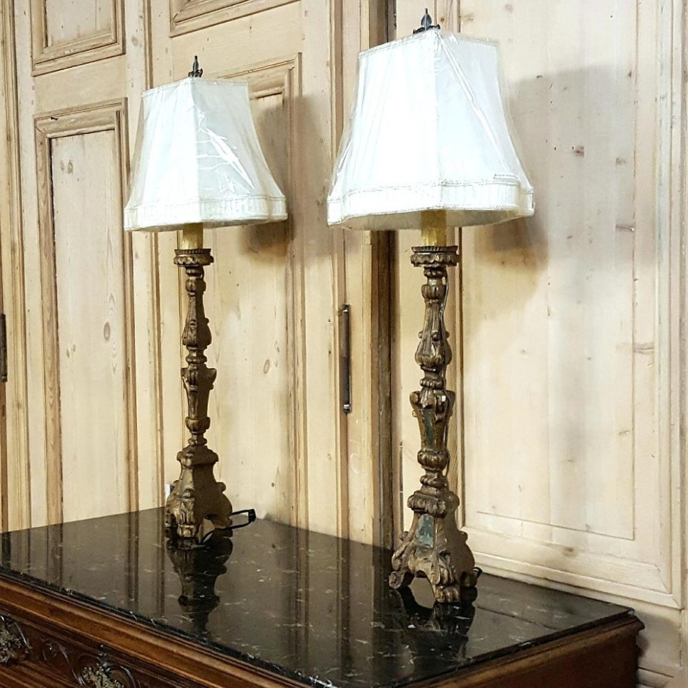 Featured Photo of Tuscan Table Lamps For Living Room
