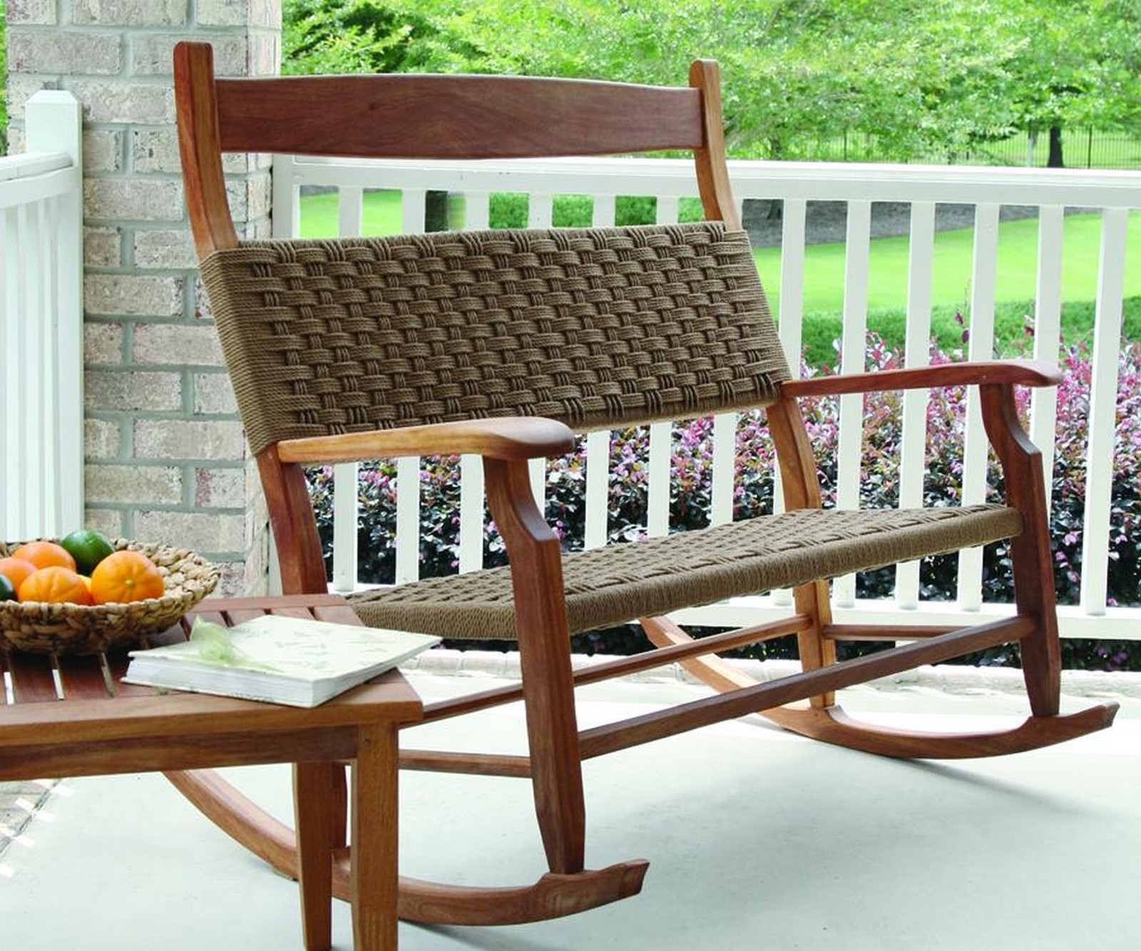 Uncategorized : Wicker Outdoor Rocking Chair In Beautiful Martha For Most Recent All Weather Patio Rocking Chairs (Gallery 15 of 20)