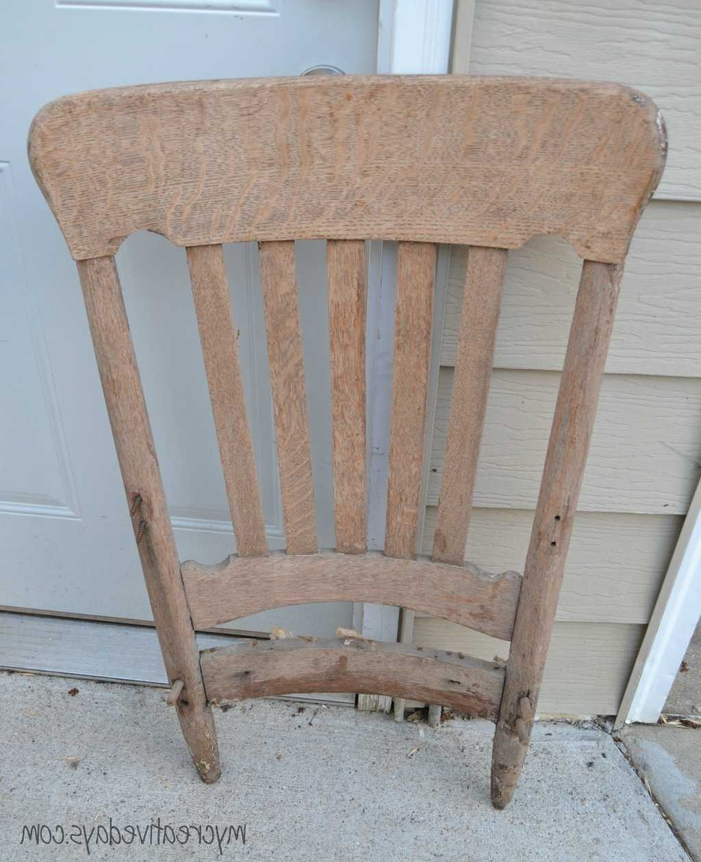 Upcycled Rocking Chairs Throughout Widely Used Diy Rocking Chair Upcycle Tutorial – My Creative Days (Gallery 15 of 20)